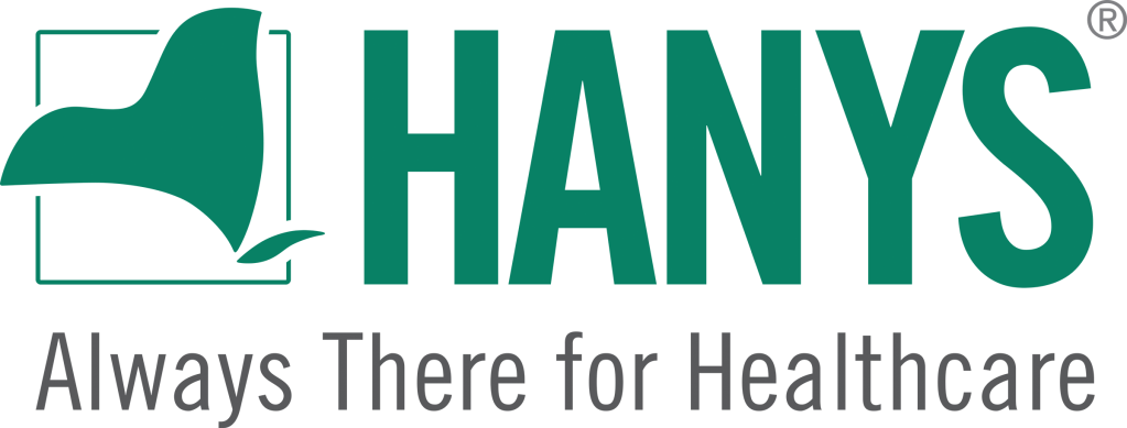 This image has an empty alt attribute; its file name is hanys_full_logo_green_r.png
